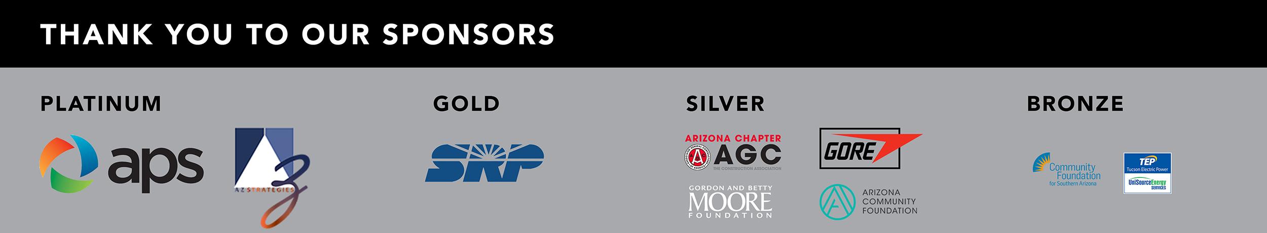 2021 Regents' Cup sponsors